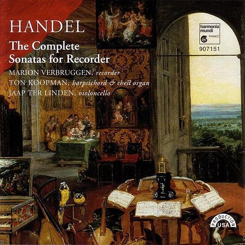 Play & Download Handel: The Complete Sonatas for Recorder by Various Artists | Napster