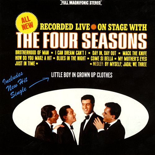 On Stage With The 4 Seasons by Frankie Valli & The Four Seasons