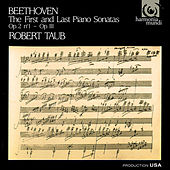 Play & Download Beethoven: First and Last Piano Sonatas by Robert Taub | Napster