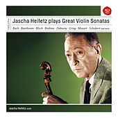 Jascha Heifetz Plays Sonatas For Violin by Various Artists