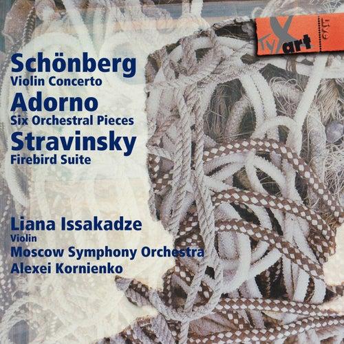 Play & Download Schönberg - Adorno - Stravinsky by Moscow Symphony Orchestra | Napster