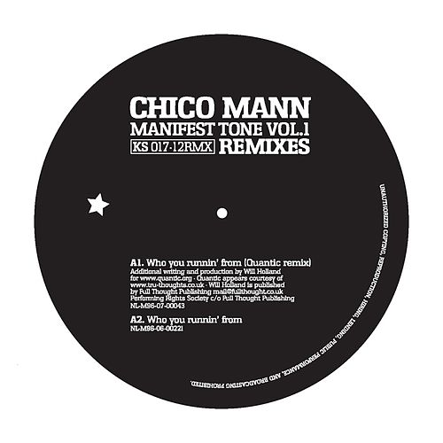 Manifest Tone Vol.1 - 12' Remixes by Chico Mann