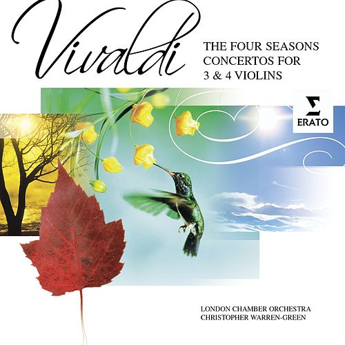 The Four Seasons Concertos for Three and Four Violins by Antonio Vivaldi