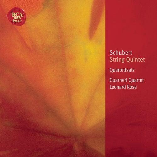Schubert: String Quintet; Quartettsatz by Guarneri String Quartet