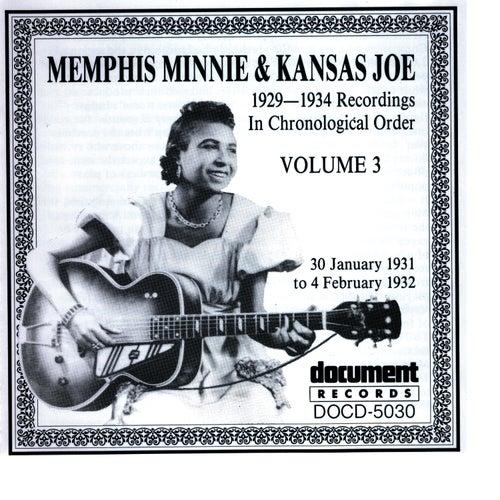 Memphis Minnie and Kansas Joe Vol. 3 (1931 - 1932) by Memphis Minnie