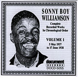 Sonny Boy Williamson, Vol. 1: 1937 - 1938 by Sonny Boy Williamson