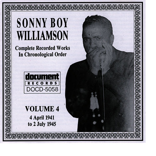 Play & Download Sonny Boy Williamson, Vol. 4: 1941 - 1945 by Sonny Boy Williamson | Napster