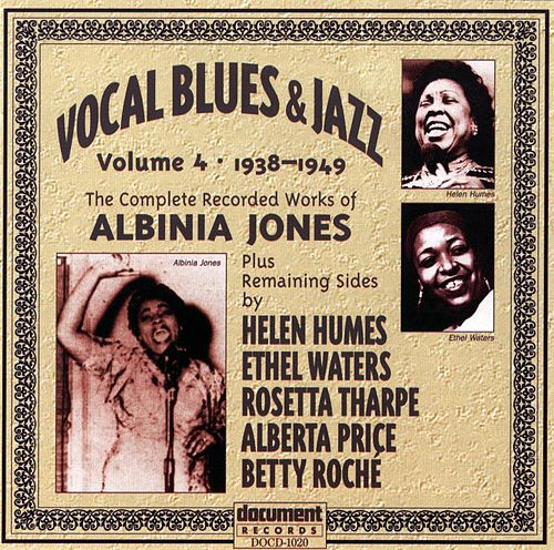 Vocal Blues & Jazz Volume 4 (1938 - 1949) by Various Artists