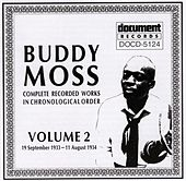 Buddy Moss Vol. 2 1933 - 1934 by Buddy Moss