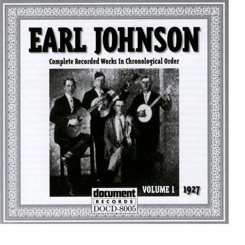 Earl Johnson Vol. 1 1927 by Earl Johnson