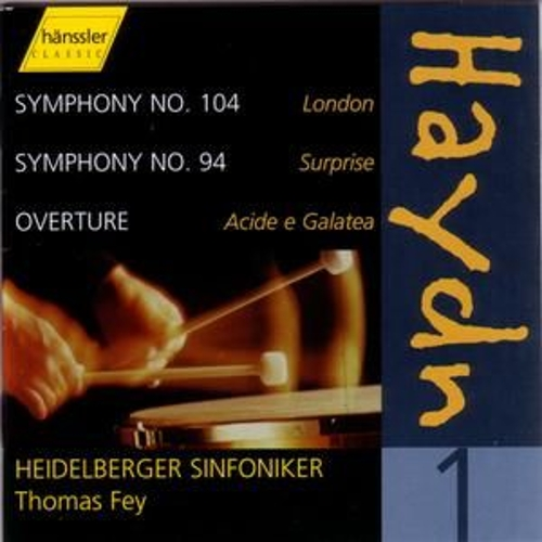 Symphonies 104 and 94, etc. by Franz Joseph Haydn
