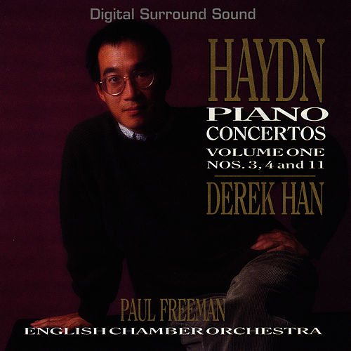 Haydn Piano Concertos: Vol. 1 by Derek Han