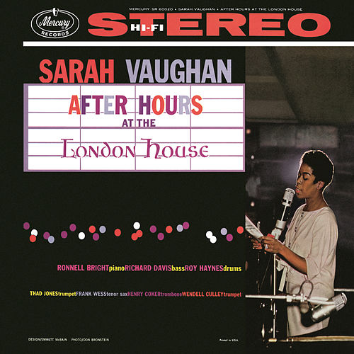 Play & Download After Hours At The London House by Sarah Vaughan | Napster