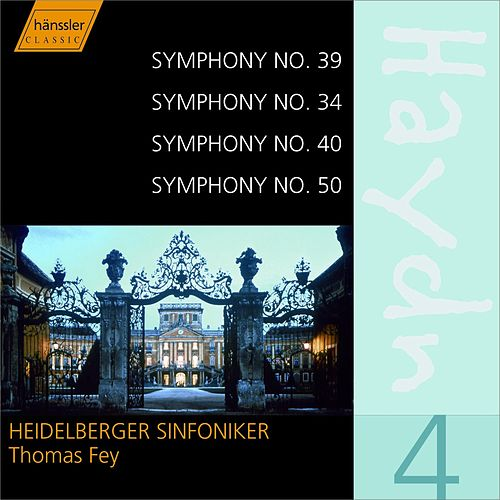 Play & Download Haydn Symphonies 39, 34, 40, 50 by Franz Joseph Haydn | Napster