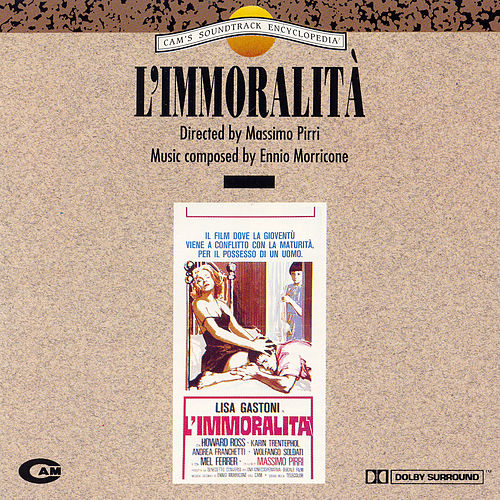 Play & Download L' Immoralita' by Ennio Morricone | Napster