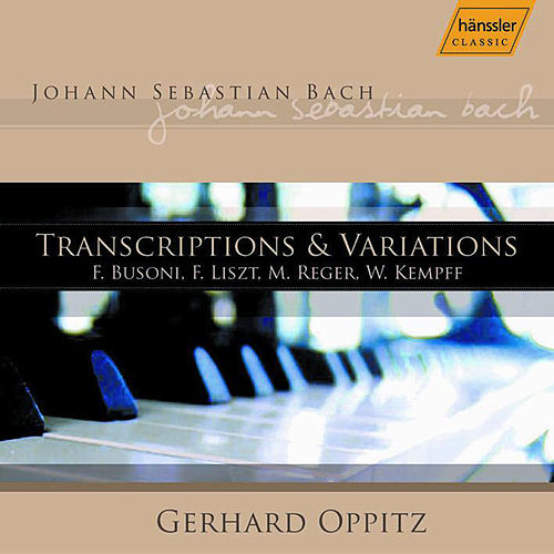 Transcriptions & Variations by Johann Sebastian Bach