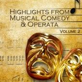 Highlights from Musical Comedy & Operetta Vol.2 de Various Artists