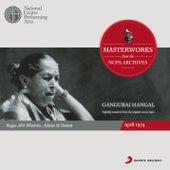 From the NCPA Archives - Gangubai Hangal by Gangubai Hangal
