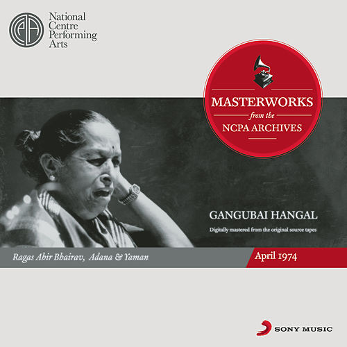 From the NCPA Archives - Gangubai Hangal by Gangubai Hangal