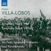 Villa-Lobos: Symphonies Nos. 3,