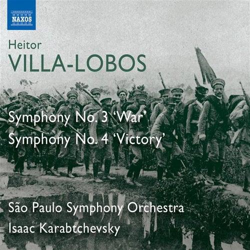 Play & Download Villa-Lobos: Symphonies Nos. 3,
