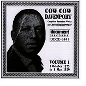 Play & Download Cow Cow Davenport Vol. 1 (1925-1929) by Cow Cow Davenport | Napster