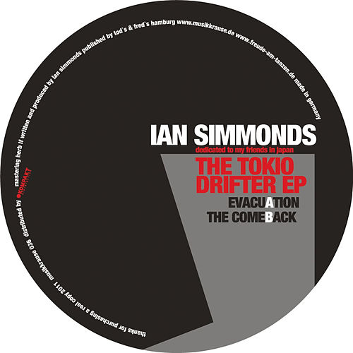 The Tokio Drifter EP by Ian Simmonds