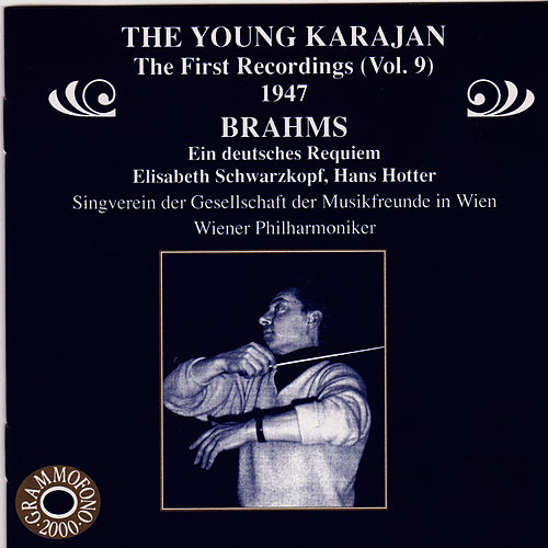 The Young Karajan - The First Recordings, Vol. 9 by Wiener Philharmoniker
