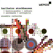 Play & Download Kontra-Punkte+Refrain+Zeitmasse+Schlagtrio by Karlheinz Stockhausen | Napster