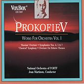 Prokofiev: Works For Orchestra, Vol. 1 by Jean Martinon
