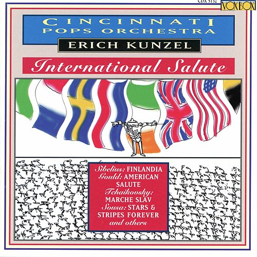 Play & Download International Salute by The Cincinnati Pops Orchestra | Napster
