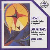 Liszt: 6 Grandes Etudes De Paganini. Brahms: Variations On A Theme By Paganini by Abbey Simon