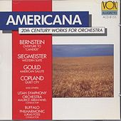 Americana 20th Century Works For Orchestra: Bernstein, Siegmeister, Copland, Ives, Ruggles, Gould, Robertson, Nelhybel by Various Artists