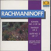 Play & Download Michael Ponti: Rachmaninoff: S Rachmaninoff: Sonata, Fantasy, Suite by Michael Ponti | Napster