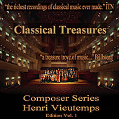 Classical Treasures Composer Series: Henry Vieutemps, Vol. 1 by Various Artists