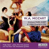 Mozart Quintet And Quartet by Fine Arts Quartet