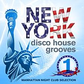 New York Disco House Grooves, Vol.1 (Manhattan Night Club Selection) by Various Artists