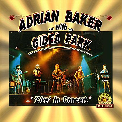 Play & Download Live in Concert by Adrian Baker | Napster