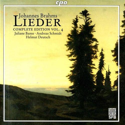 Brahms: Lieder (Complete Edition, Vol. 4) by Juliane Banse