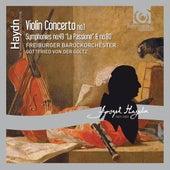 Play & Download Haydn: Violin Concerto No.1 by Gottfried von der Goltz and Freiburger Barockorchester | Napster