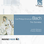 Carl Philipp Emanuel Bach: Triosonaten by London Baroque and Richard Egarr