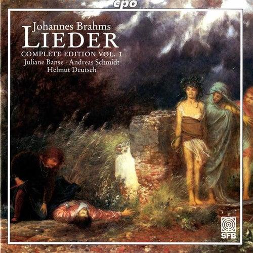 Brahms: Lieder (Complete Edition, Vol. 1) by Juliane Banse