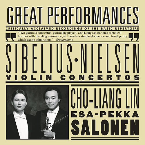Play & Download Sibelius and Nielsen Violin Concertos by Cho-Liang Lin | Napster