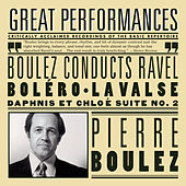 Boulez Conducts Ravel (Boléro, La Valse, Rapsodie Espagnole, Alborada del Gracioso, Daphnis et Chloé Suite No. 2) by New York Philharmonic