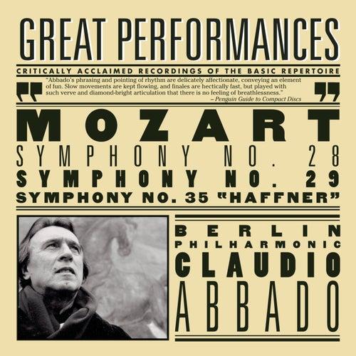 Mozart: Symphonies Nos. 28, 29 & 35 'Haffner' by Claudio Abbado