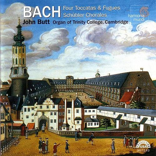 Four Toccatas and Fugues, Schübler Chorales by Johann Sebastian Bach