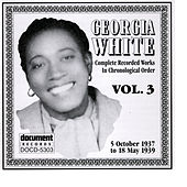 Georgia White Vol. 3 1937-1939 by Georgia White