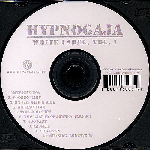 Play & Download White Label, Vol. 1 by Hypnogaja | Napster