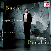 Bach:  English Suites Nos. 2, 4 & 5 by Murray Perahia