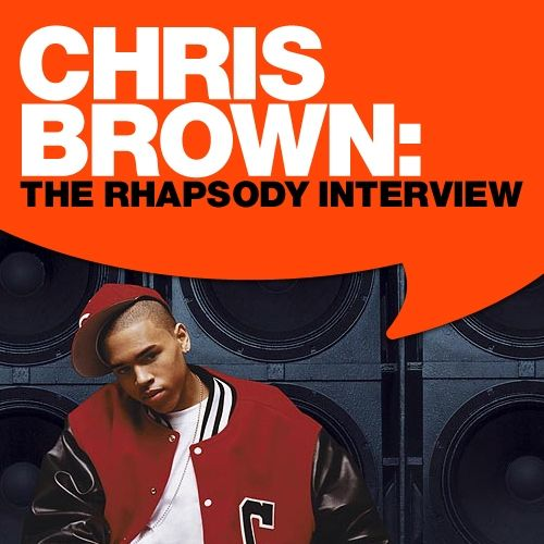Play & Download Chris Brown: The Rhapsody Interview by Chris Brown | Napster